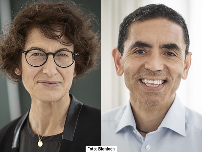 Şahin ve Türeci'ye Almanya'nın en büyük ödülü olan 'Liyakat Nişanı' verildi