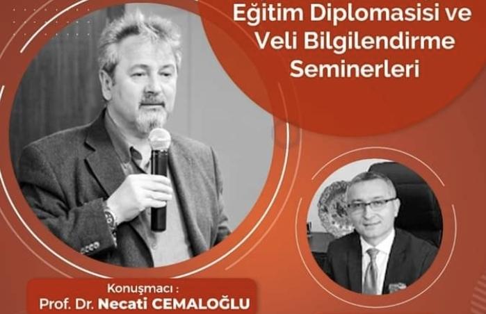 Eğitim Diplomasisi ve Veli Bilgilendirme Seminerleri devam ediyor