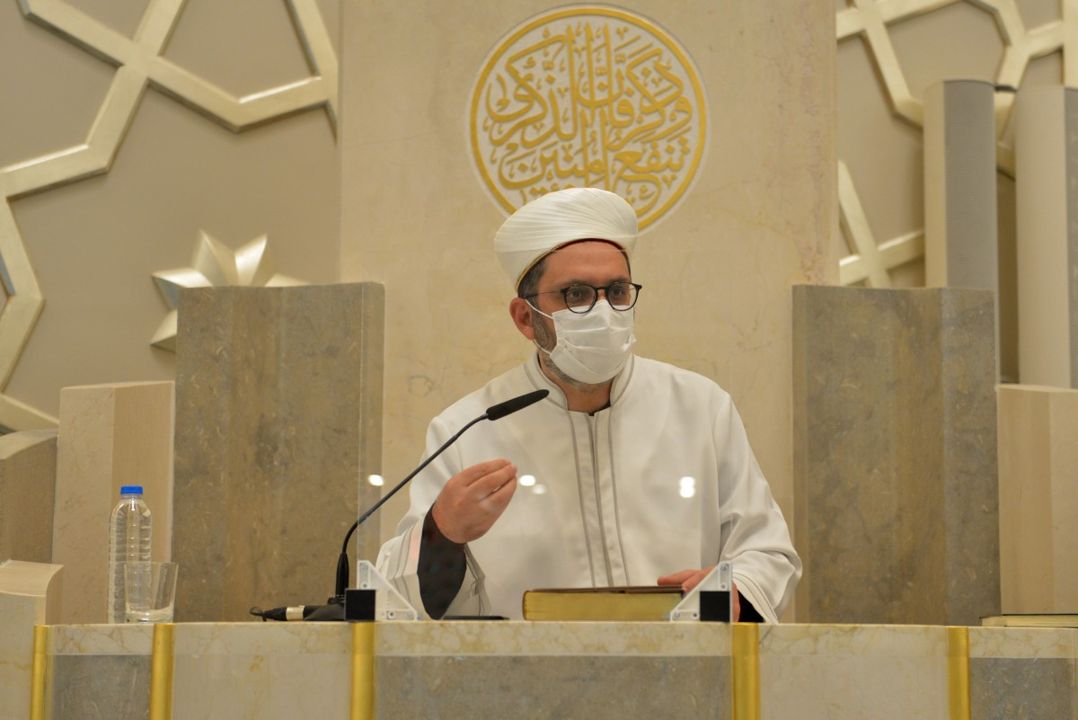Ramazan ayının ilk teravih namazı eda edildi