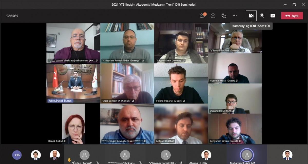 Kardeş coğrafyada 'Medyanın yeni dili' seminerleri