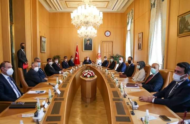 Cumhurbaşkanı Erdoğan, Türk STK temsilcileriyle bir görüşme gerçekleştirdi