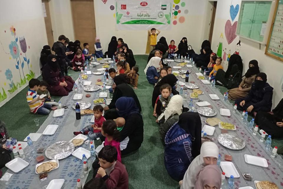 DİTİB Cami derneklerinden Afrin'e Ramazan yardımı