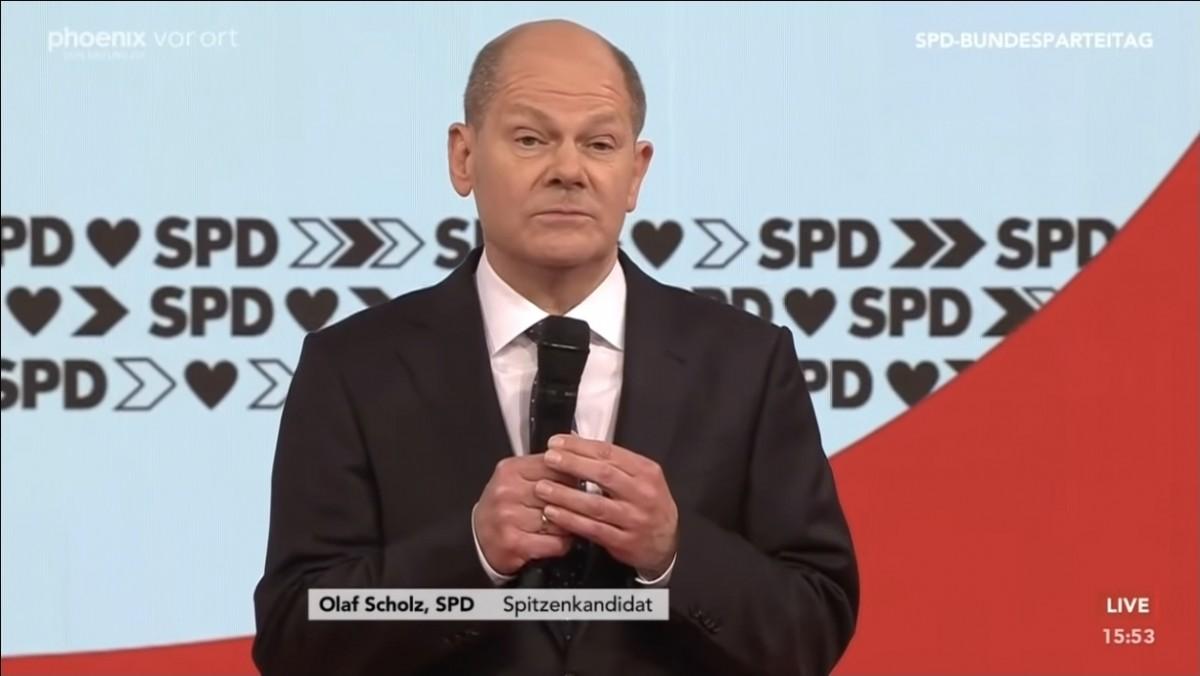 SPD'nin Başbakan adayı Olaf Scholz oldu