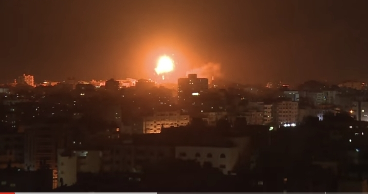 Gazze Şeridi'ndeki çatışmalarda 10'u çocuk 40 kişi hayatını kaybetti