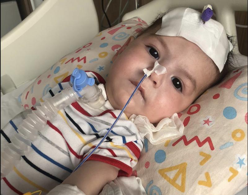 Mirza bebek rahat nefes alabilmek için yardımlarınızı bekliyor