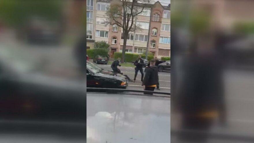 Frankfurt'ta engelli Türk'e polis şiddeti