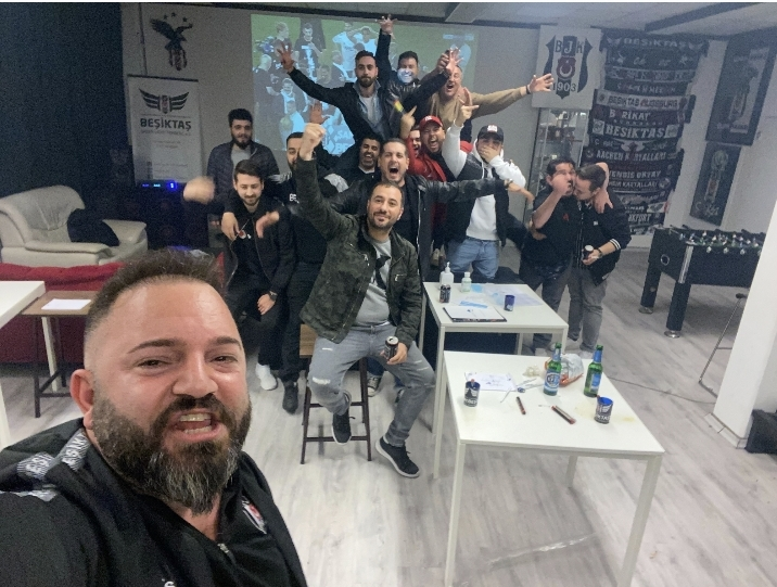Stuttgart Beşiktaş Derneği Başkanı Girgin şampiyonluğu doyasıya kutladı