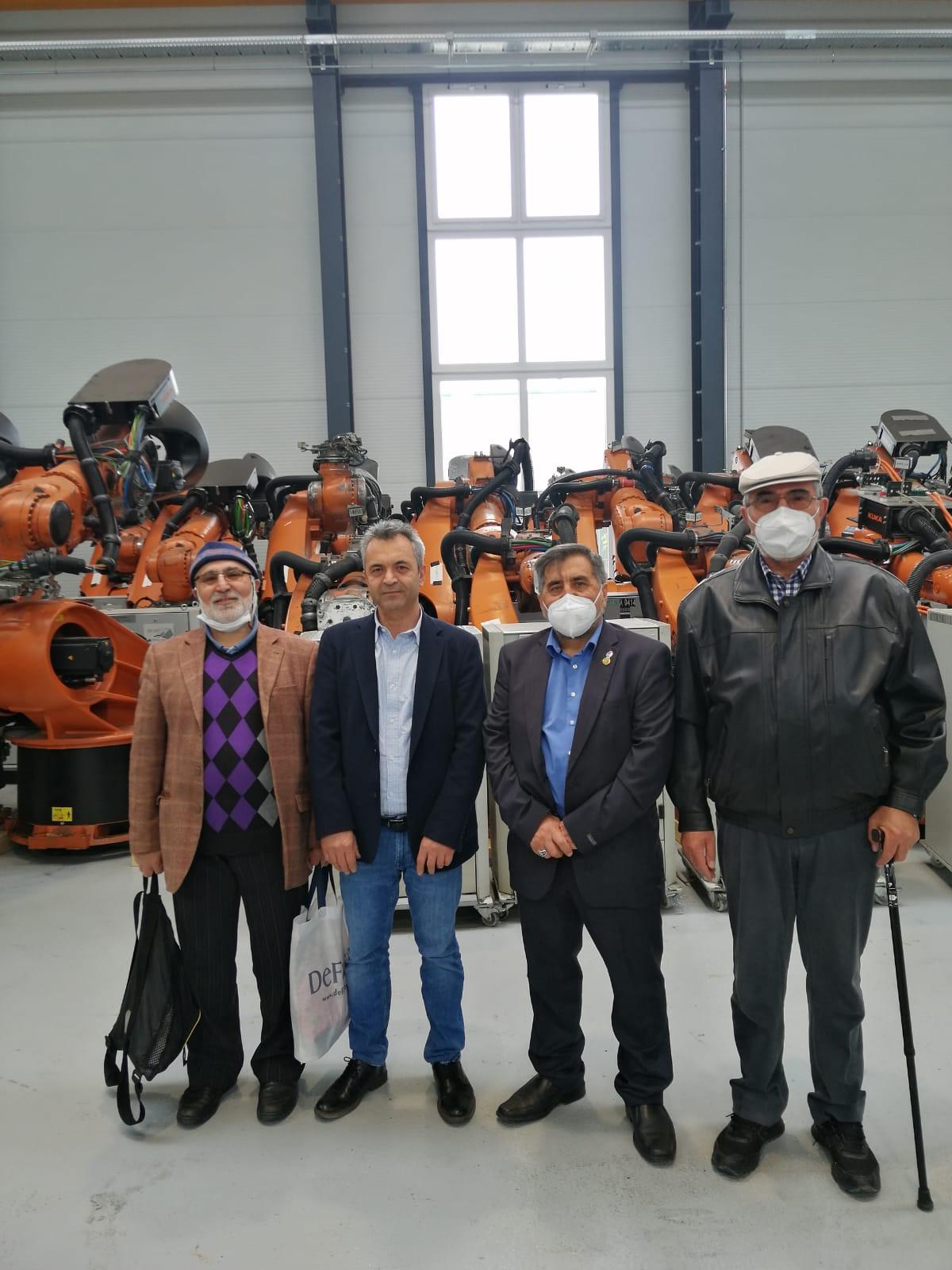 ESKA WELT firmasını AYDEF yöneticileri ziyaret etti