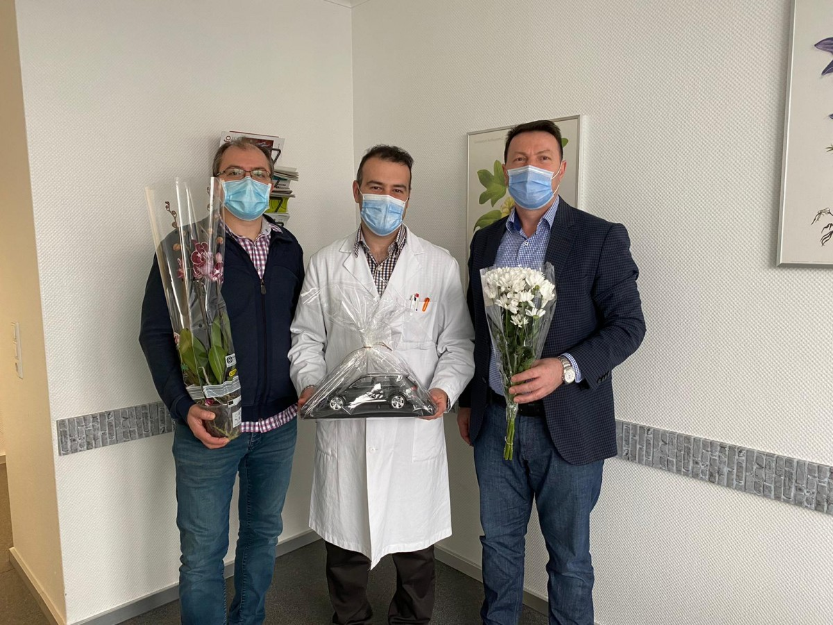 UID Heilbronn şubesi Uzman Dr. Gökhan Ergin'i ziyaret etti