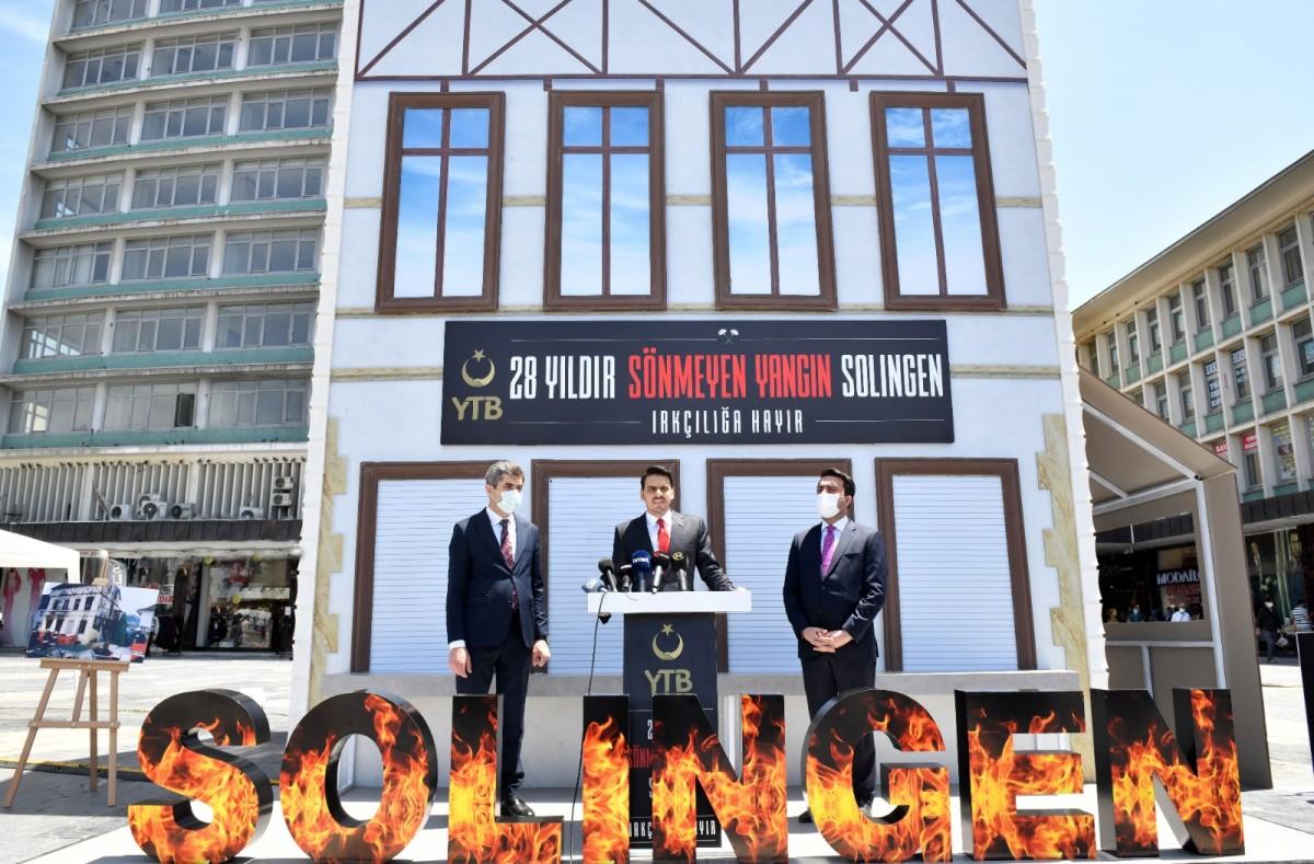 YTB Başkanı Eren: Irkçılık zehrine boyun eğmeyeceğiz