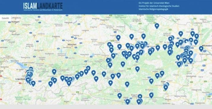 Müslümanları hedef gösteren harita Almanya'ya sıçradı