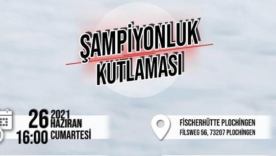 Beşiktaş Avrupa'da Şampiyonluk kutlamalarına devam ediyor