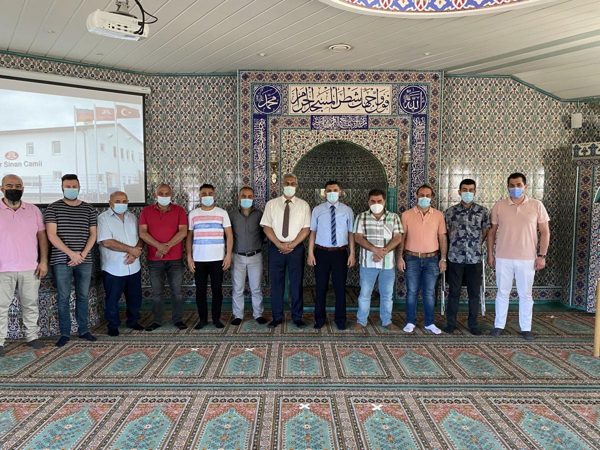 DİTİB Laupheim Mimar Sinan Camii'nde  Ayhan Mahir güven tazeledi