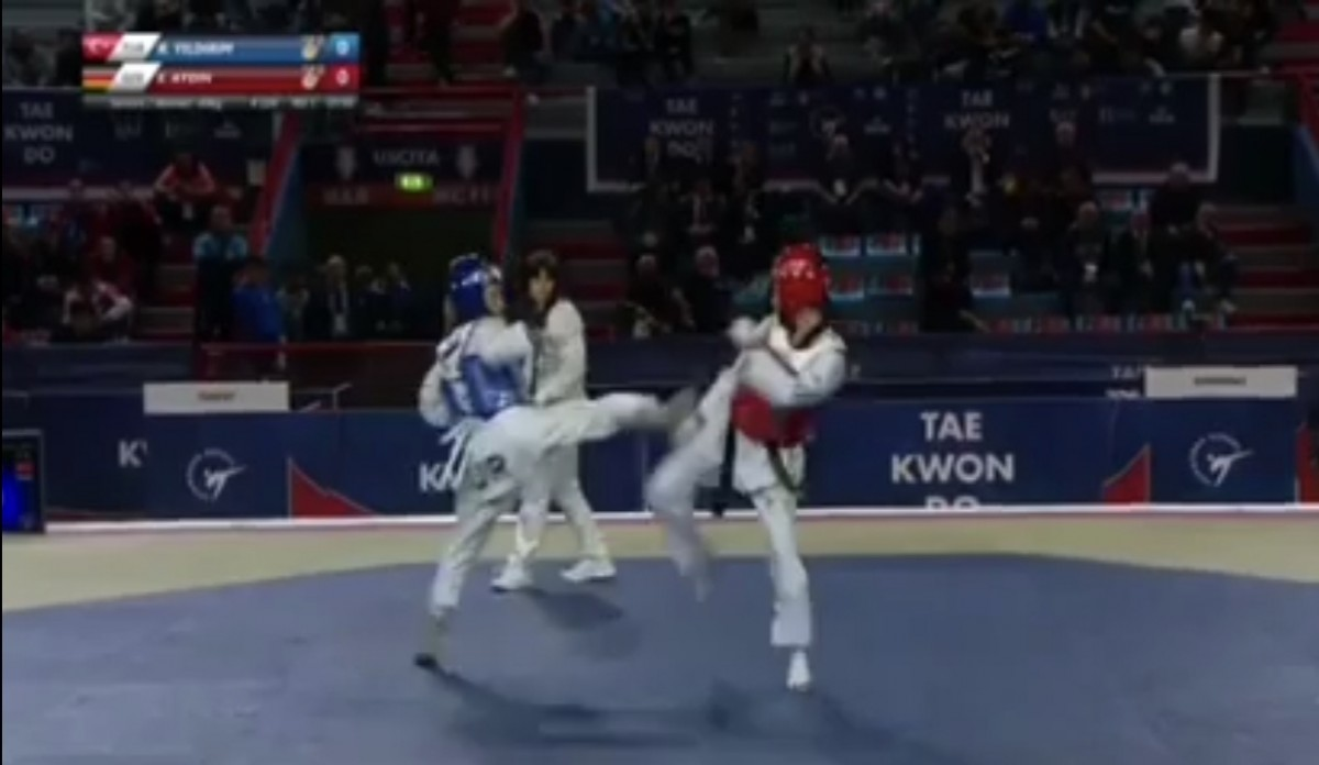 Ela Aydın yeniden Taekwondo Almanya Şampiyonu oldu