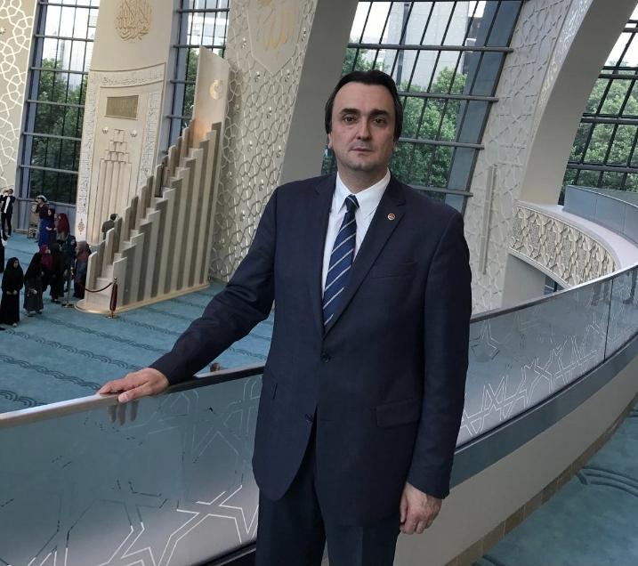 Erdinç Altuntaş yeniden DİTİB Genel Merkez yönetim kuruluna seçildi