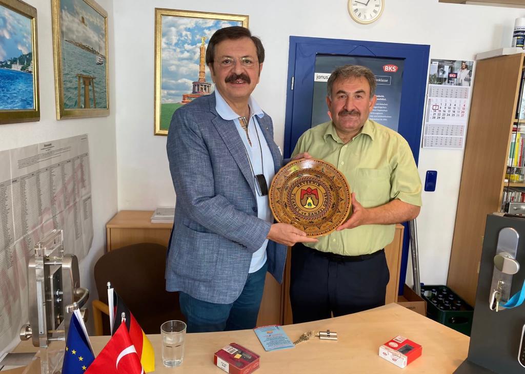 Ankara'dan Hanau'a önemli ziyaret