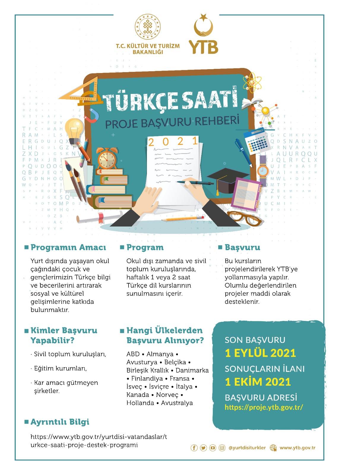 Türkçe Öğreten Kurumlara Destek