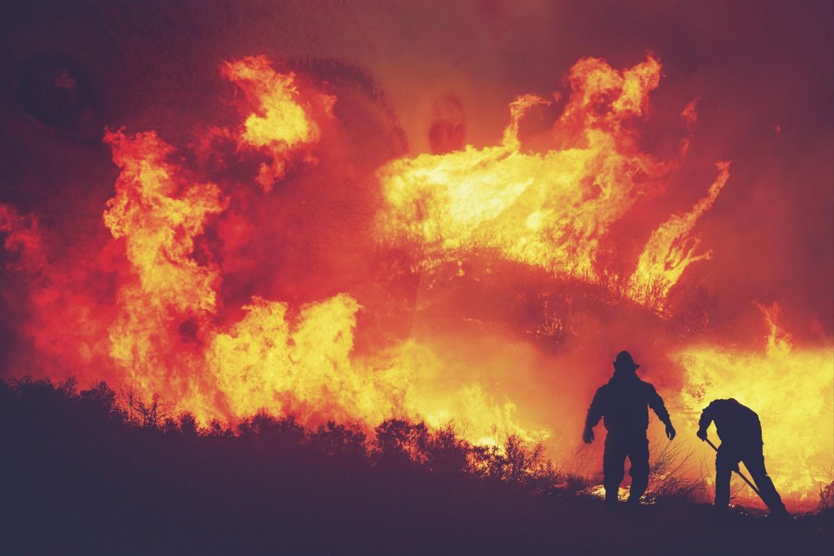 Yunanistan'da Ülke Çapında Yangın Alarmı Verildi
