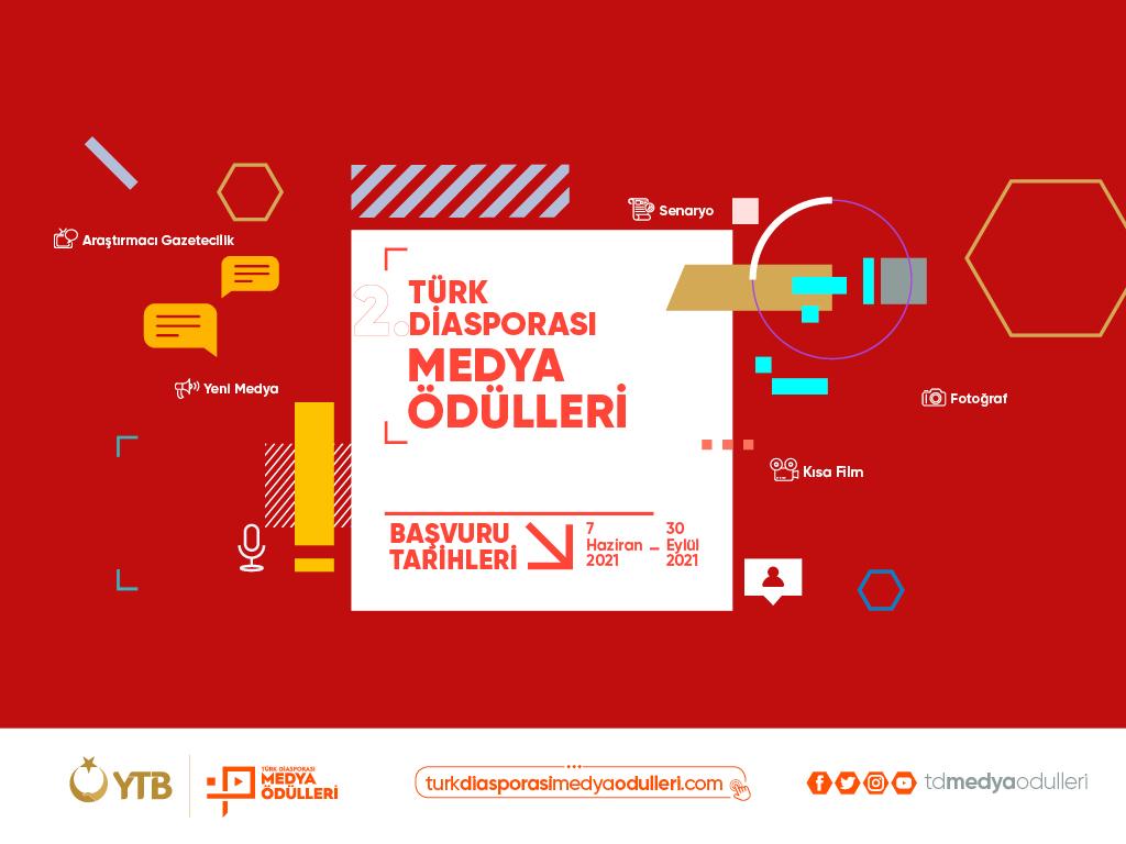 YTB'den Türk Diasporası Medya Ödülleri Yarışması