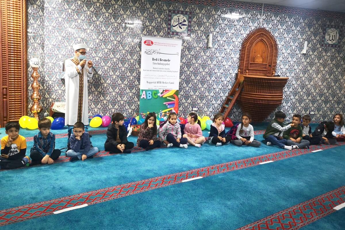 DİTİB camilerinde 'Bed-i Besmele' geleneği devam ediyor