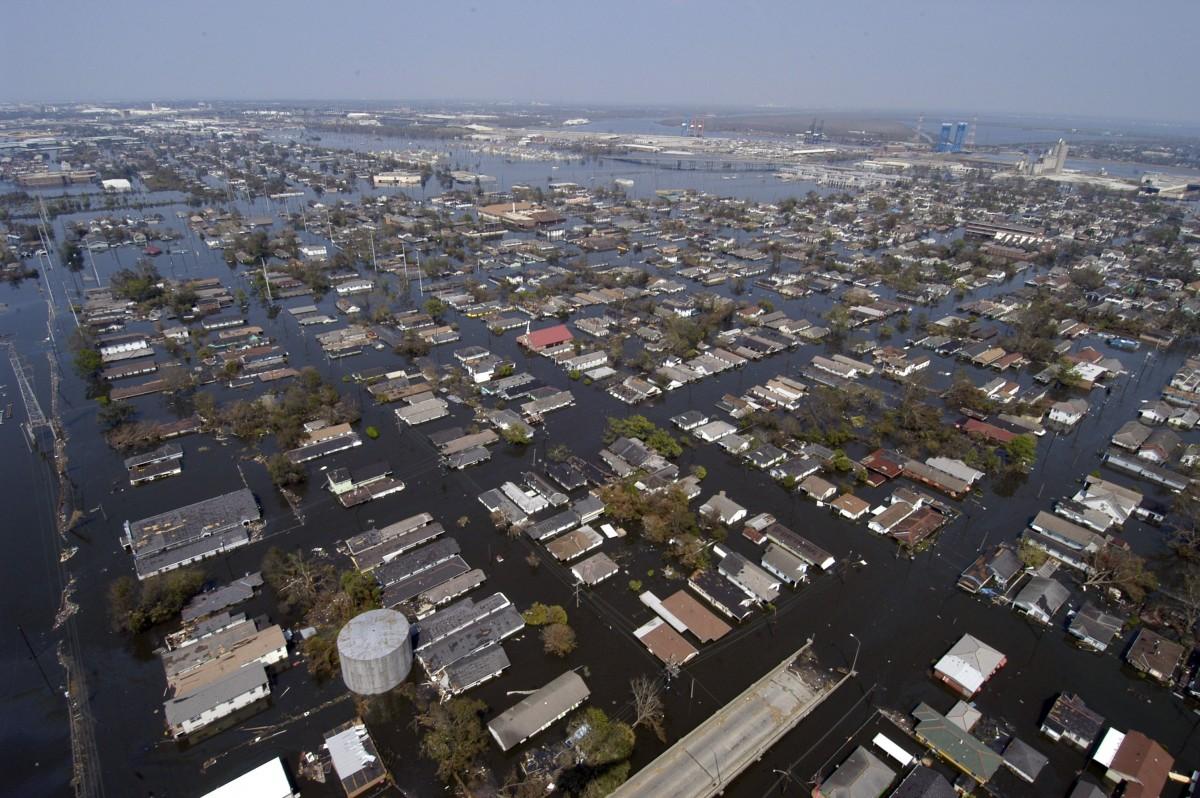 ABD Tarihinin 8. Büyük Kasırgası Ida, New Orleans'ı Vurdu