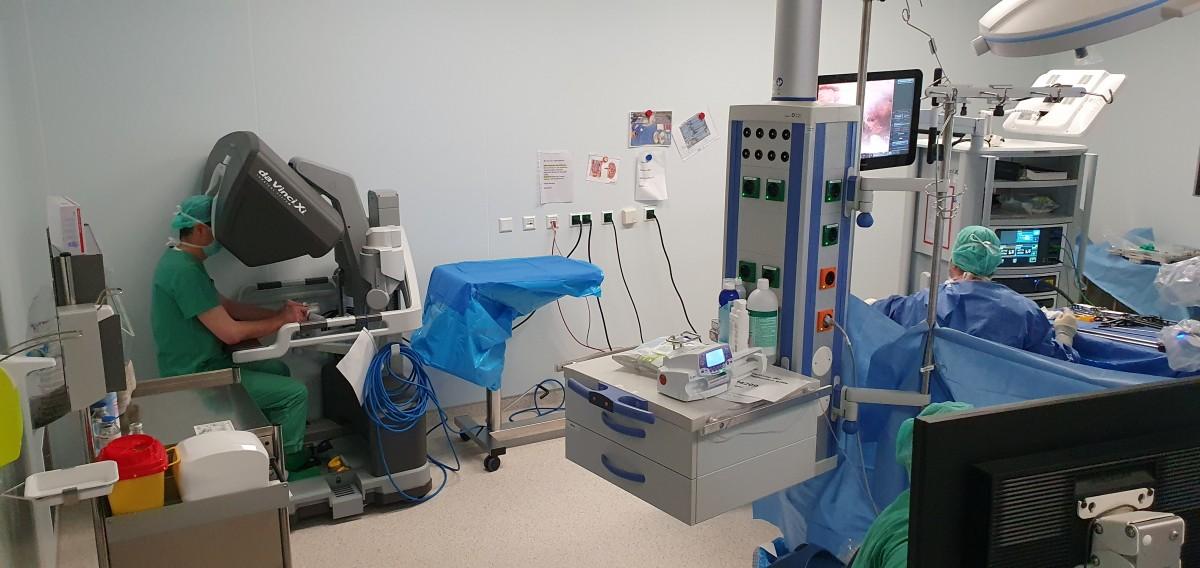 Alman Klinikte Türkiye'de Geliştirilen Robotik Platform Kullanılıyor
