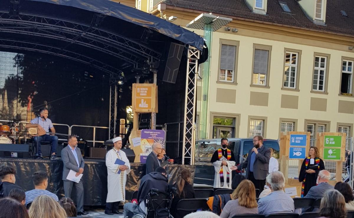 Din Adamları Göppingen'de Barış İçinde Birlikte Yaşam İçin Dua Etti