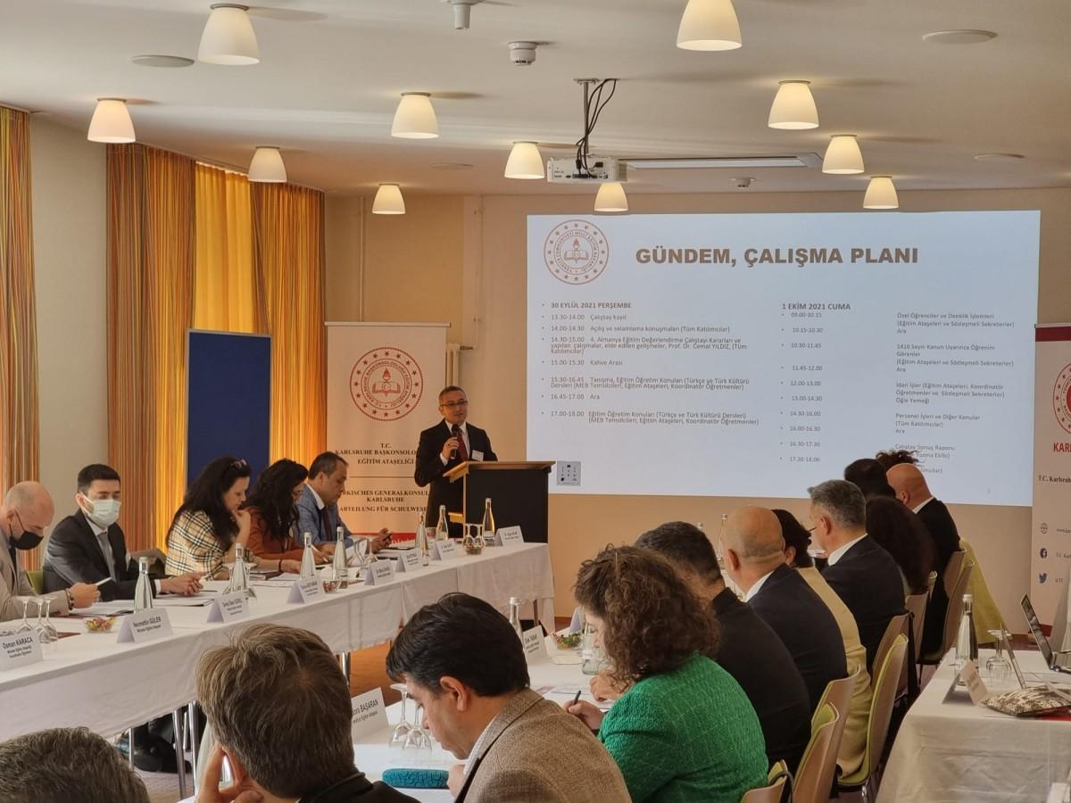 Almanya Eğitim Ataşelikleri ile MEB Türkçe İçin Bir Araya Geldi