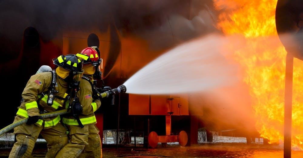 Stuttgart'ta büyük yangın