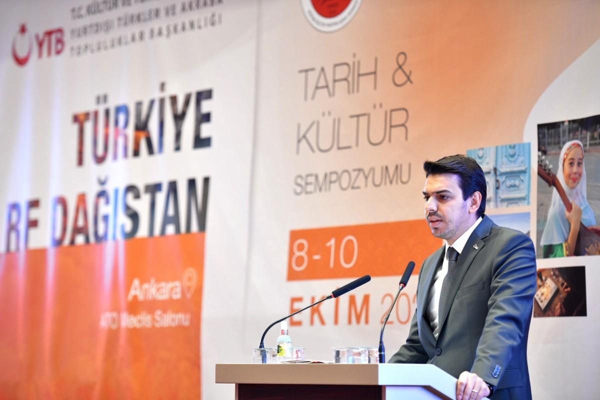 """YTB Desteğiyle """"Türkiye-Dağıstan Tarih ve Kültür Sempozyumu"""""""