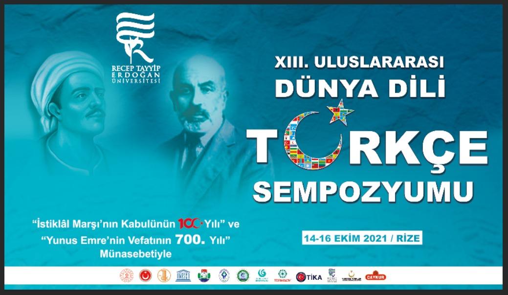 """""""Uluslararası Dünya Dili Türkçe Sempozyumu"""""""