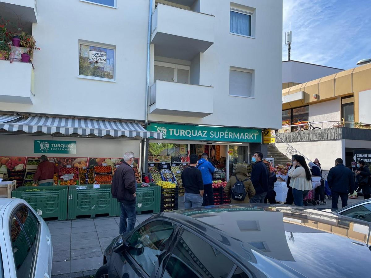 Beğenilen Turquaz Süpermarket'in Yeni Şubesi Giebel'de