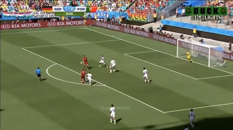 Almanya Portekiz'i güzel futboluyla sahadan sildi!