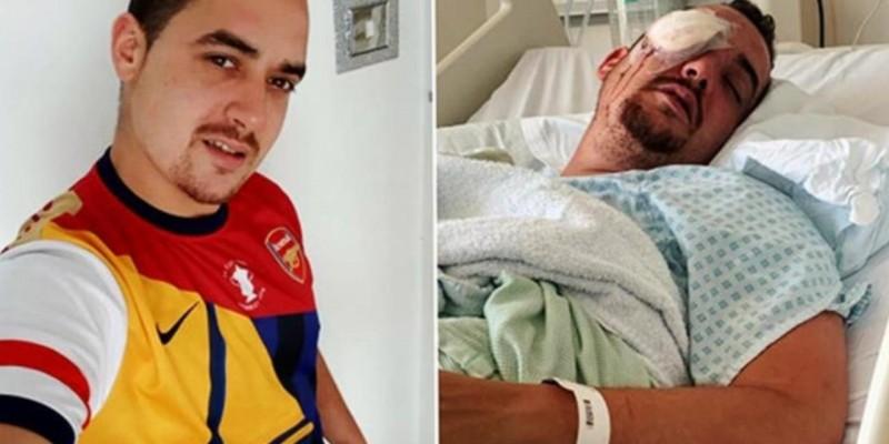 Uğradığı saldırıda gözünü kaybeden gurbetçi için yardım kampanyası!