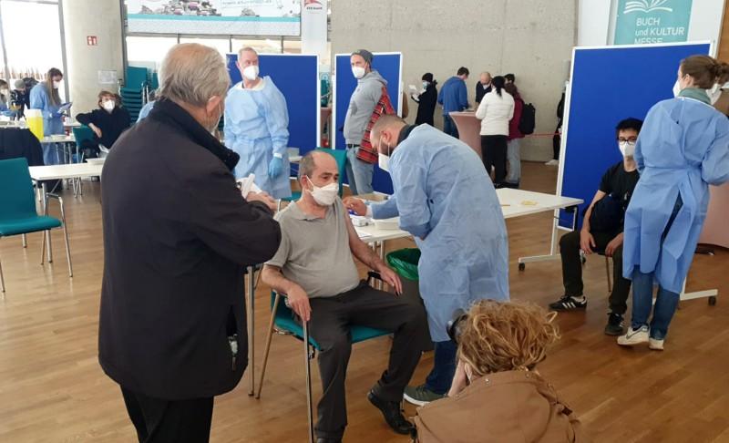 Köln DİTİB Merkez Camii'nde 2. Aşı Kampanyası